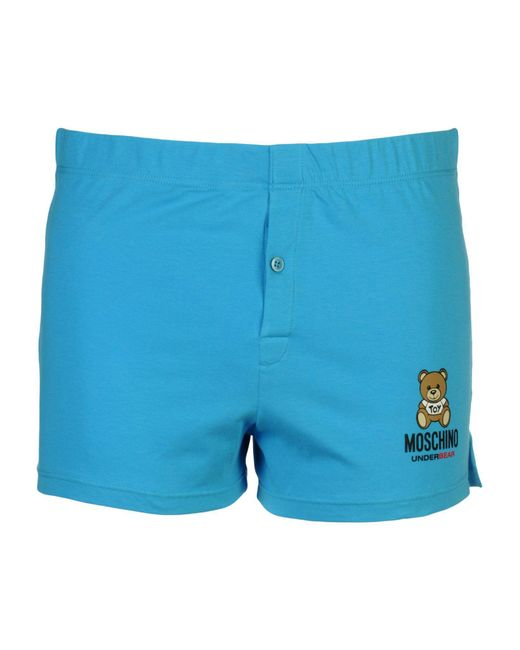 Moschino - Blue Boxer for Men - Lyst