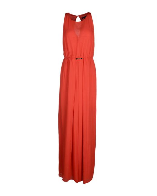 Patrizia Pepe Red Long Dress