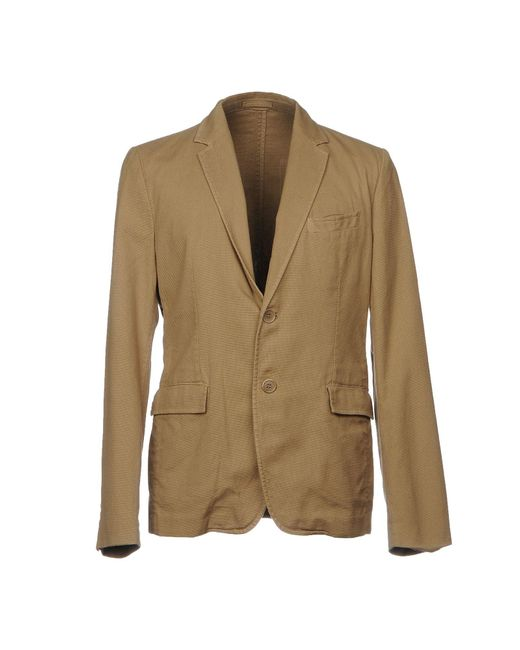 Aspesi - Natural Blazer for Men - Lyst