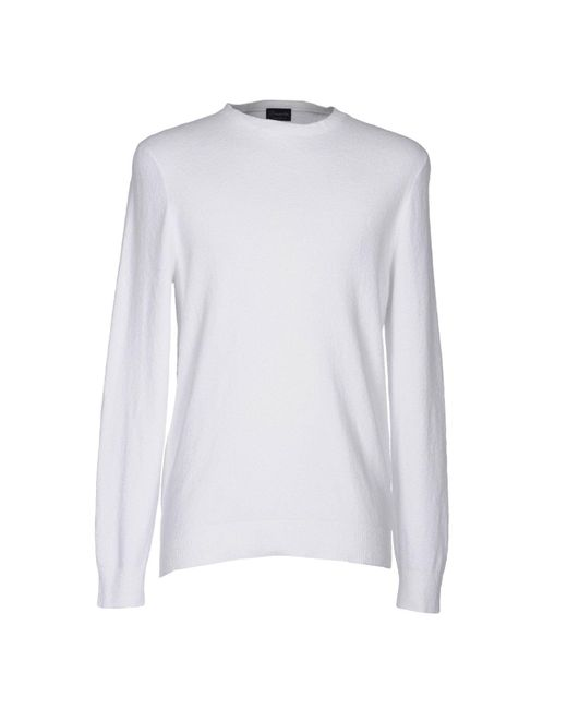 Drumohr - White Sweater for Men - Lyst