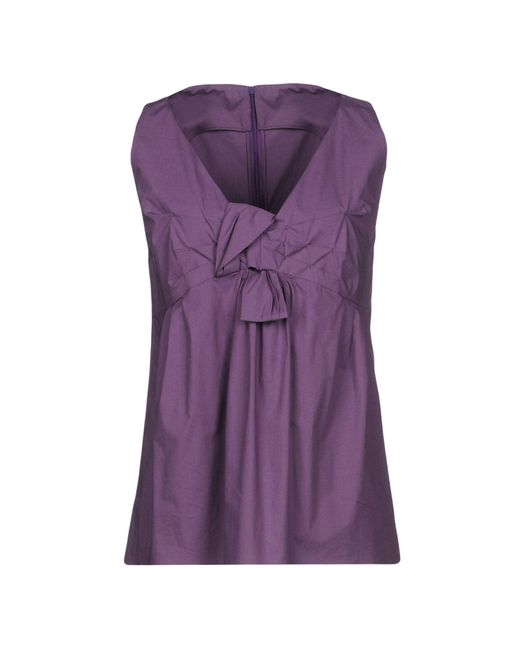AQUILANO.RIMONDI - Purple Top - Lyst