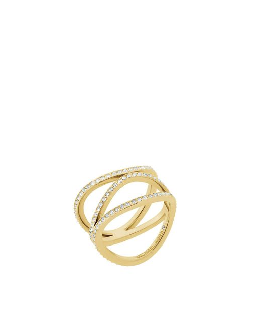 Michael Kors - Metallic Ring - Lyst