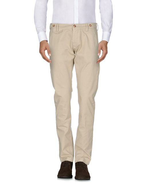 TRUE NYC - Natural Casual Trouser for Men - Lyst
