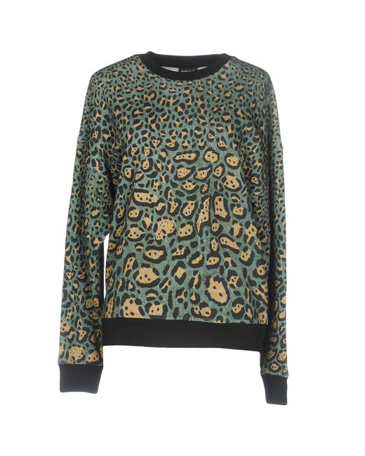 Just Cavalli - Green Sweatshirts - Lyst