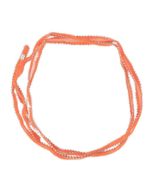 Chan Luu | Orange Necklace | Lyst