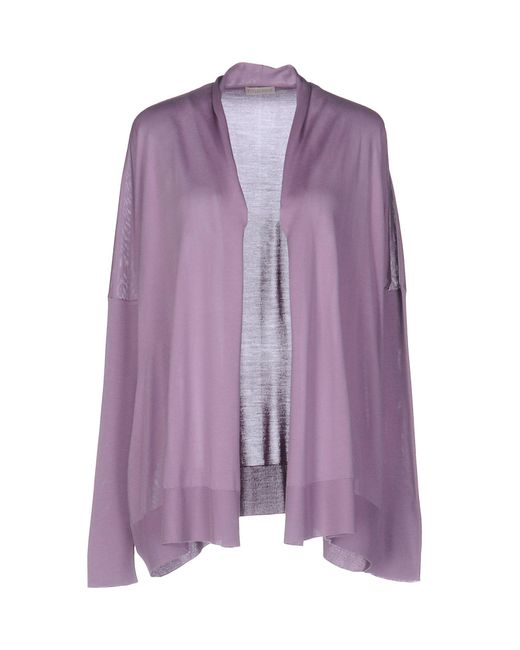 Cruciani - Purple Cardigan - Lyst