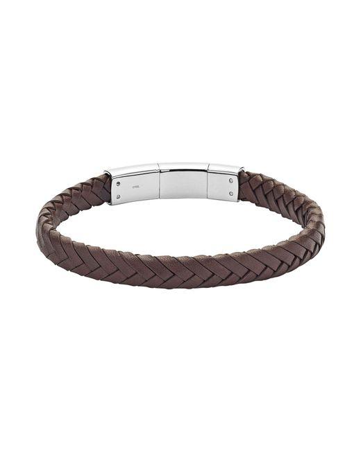 Fossil - Black Bracelets for Men - Lyst