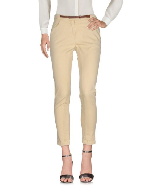 Brunello Cucinelli Yellow Casual Pants