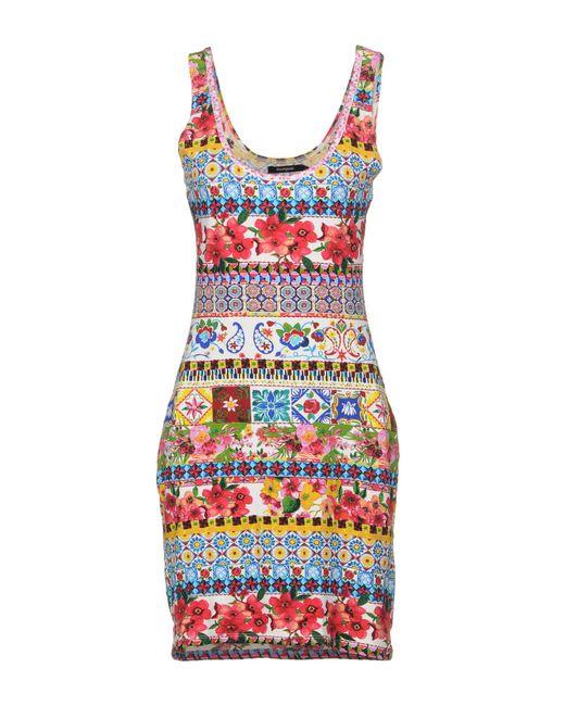 Desigual - Multicolor Short Dress - Lyst