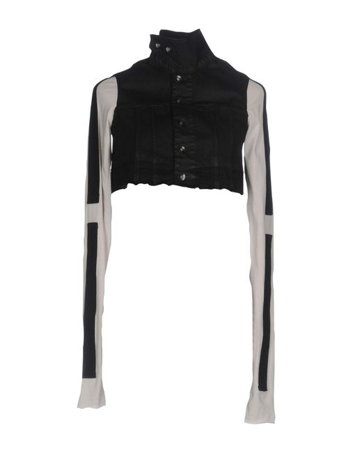 DRKSHDW by Rick Owens - Black Denim Outerwear - Lyst