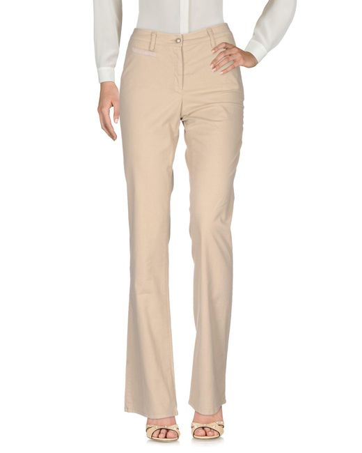 CoSTUME NATIONAL - Natural Casual Trouser - Lyst