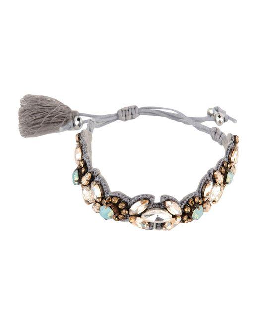 Deepa by Deepa Gurnani - Gray Bracelets - Lyst