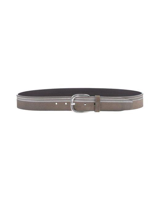 Orciani - Gray Belt for Men - Lyst