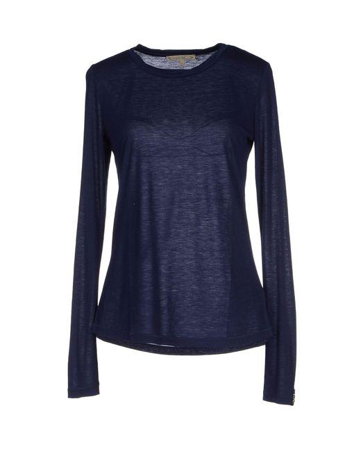 Patrizia Pepe - Blue T-shirts - Lyst