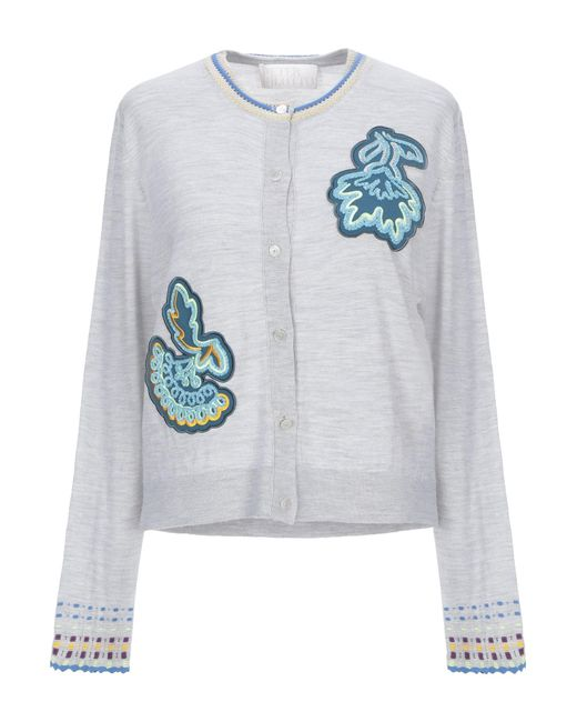 Peter Pilotto - Gray Cardigan - Lyst