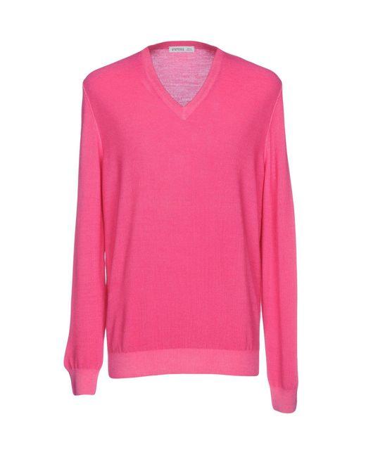 Andrea Fenzi - Pink Sweater for Men - Lyst