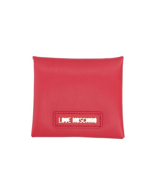 Love Moschino - Red Document Holder - Lyst