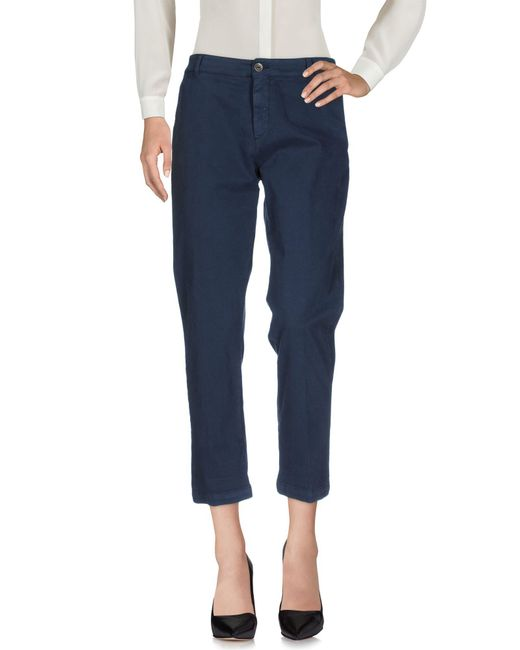 40weft - Blue Casual Pants - Lyst