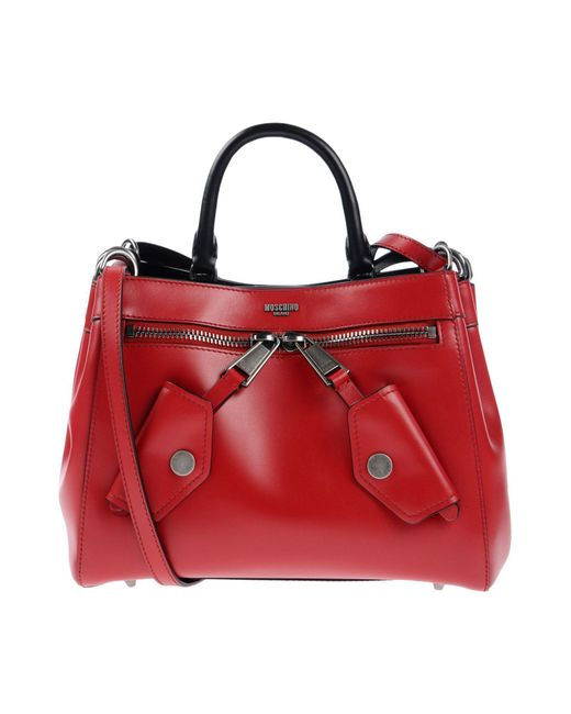 Moschino - Red Handbag - Lyst