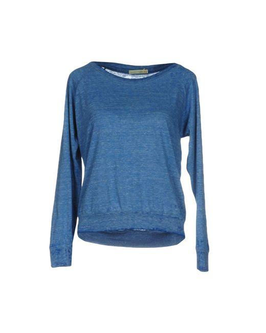 Alternative Apparel - Blue T-shirts - Lyst