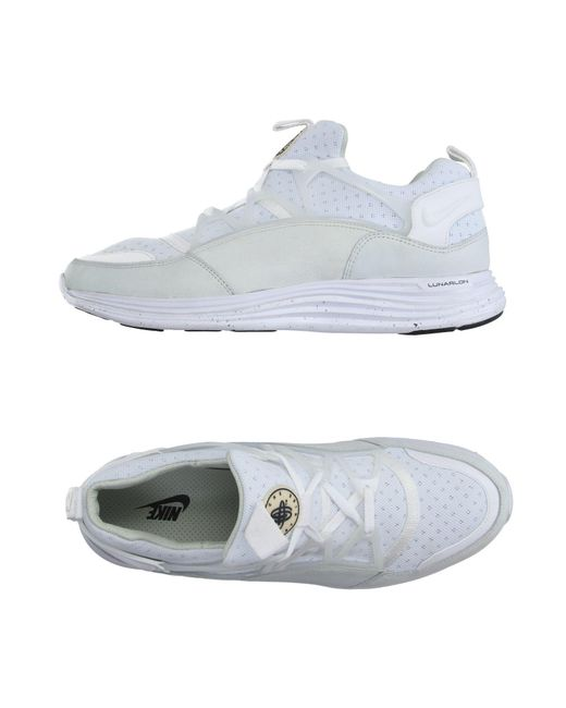 Nike - White Low-tops & Sneakers for Men - Lyst