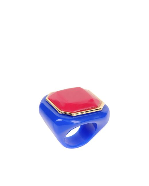 Giorgio Armani | Blue Ring | Lyst