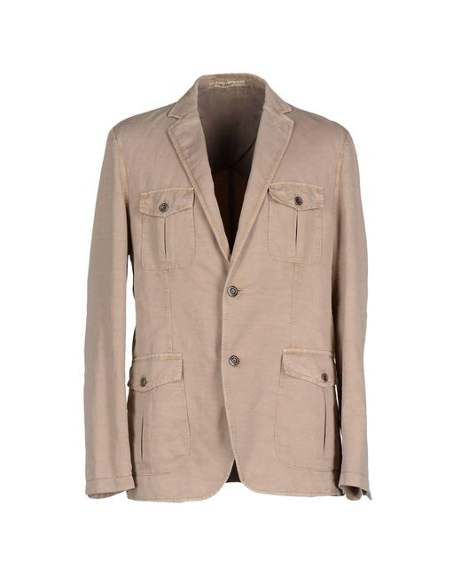 AT.P.CO - Natural Blazer - Lyst