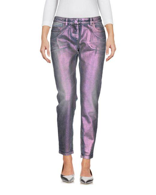 Faith Connexion | Blue Denim Trousers | Lyst