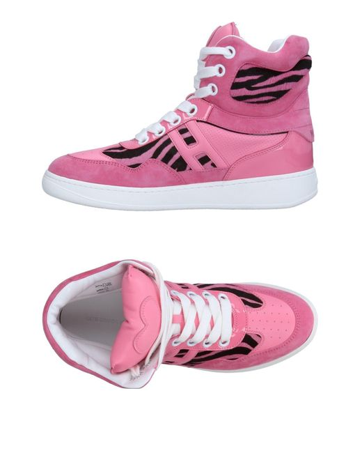 Katie Grand Loves Hogan - Pink High-tops & Trainers - Lyst