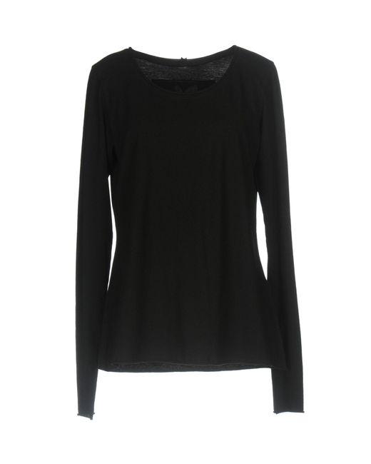 Ralph Lauren Black Label - Black T-shirts - Lyst