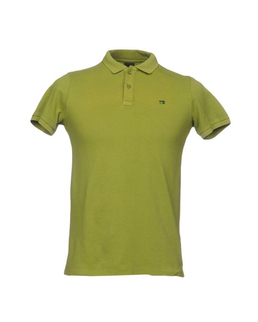 Scotch & Soda | Green Polo Shirt for Men | Lyst