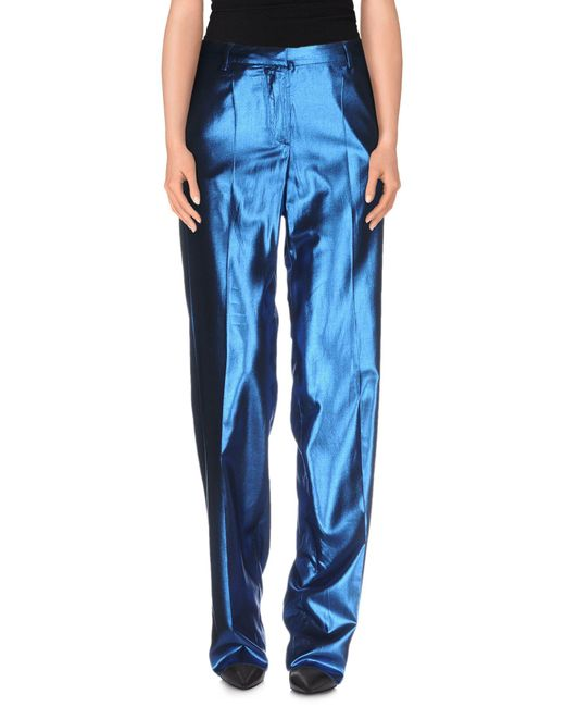 Mauro Grifoni   Blue Casual Trouser   Lyst