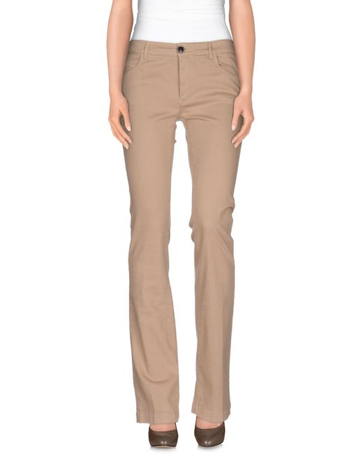 Mauro Grifoni - Natural Casual Pants - Lyst