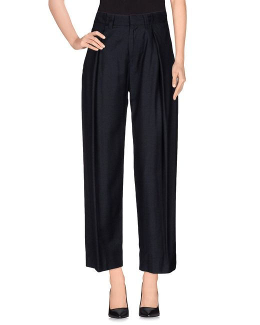 MM6 by Maison Martin Margiela - Black Casual Pants - Lyst