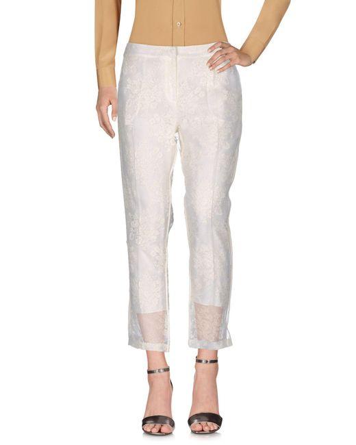 Erdem   White Casual Pants   Lyst