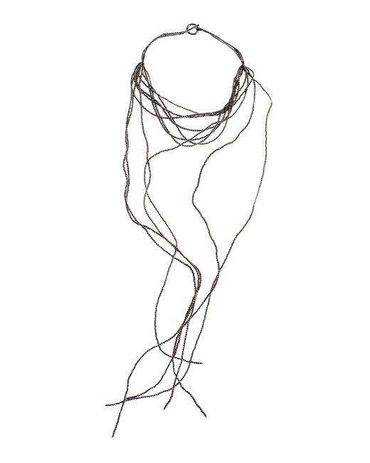 Brunello Cucinelli | Metallic Necklace | Lyst