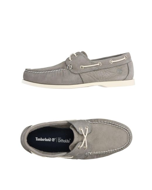 Timberland | Gray Loafer for Men | Lyst