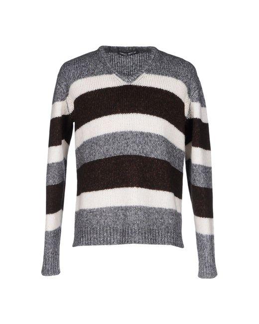 Frankie Morello - White Sweater for Men - Lyst