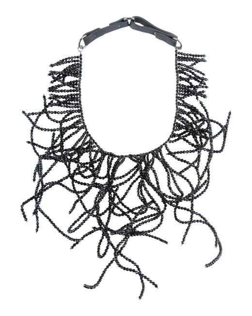 Brunello Cucinelli | Black Necklace | Lyst