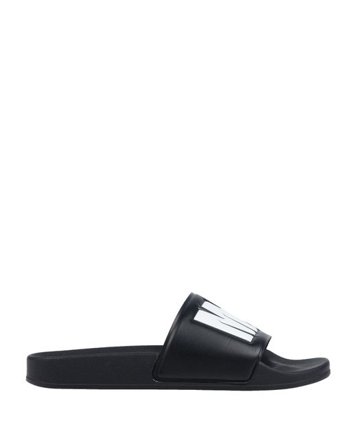 4aa8688892395 Lyst - MSGM Sandals in Black for Men - Save 30%