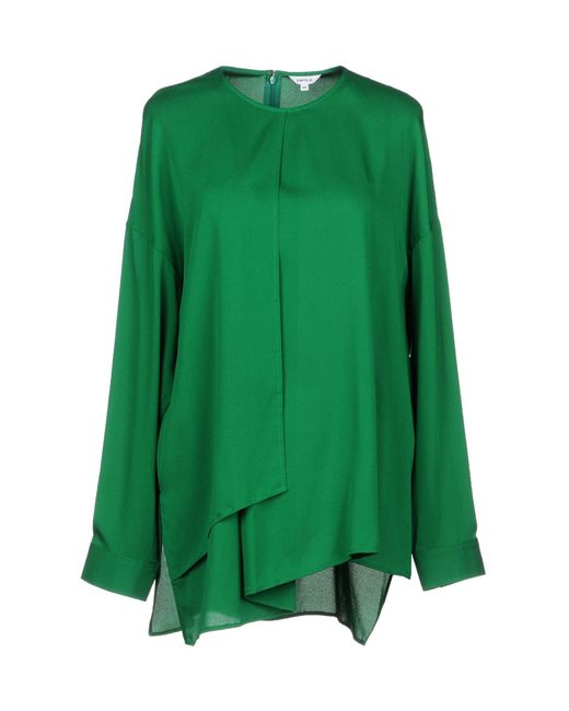 Enfold - Green Blouse - Lyst
