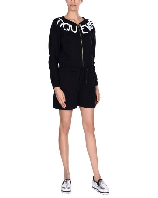 Boutique Moschino - Black Jumpsuit - Lyst