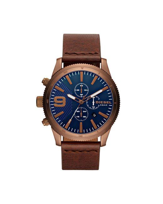DIESEL - Blue Wrist Watch for Men - Lyst