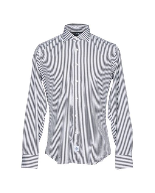 Hydrogen - Black Shirt for Men - Lyst