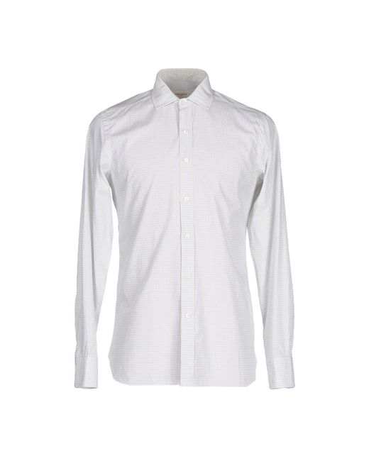 Mauro Grifoni - White Shirt for Men - Lyst