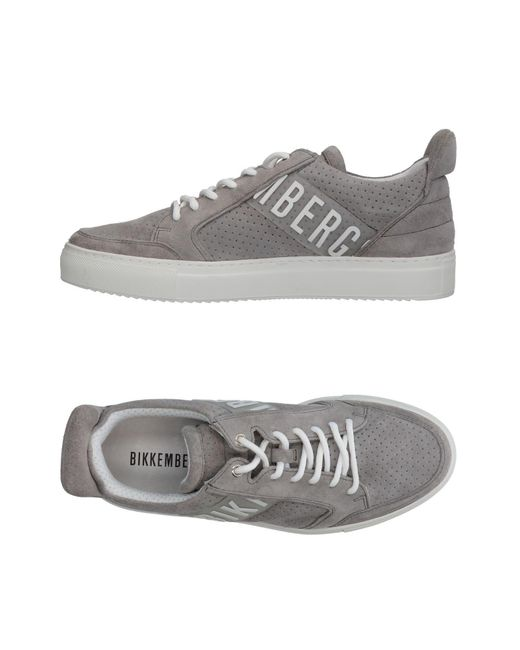 Bikkembergs - Gray Low-tops & Sneakers for Men - Lyst