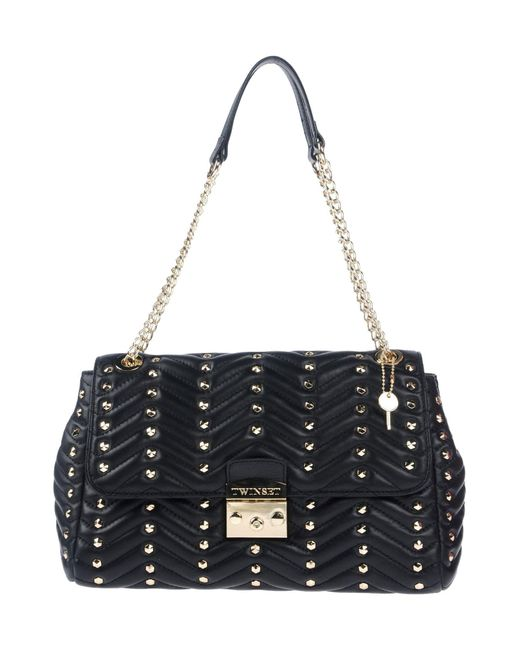 Twin Set - Black Shoulder Bag - Lyst