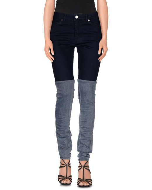 Surface To Air - Blue Denim Trousers - Lyst
