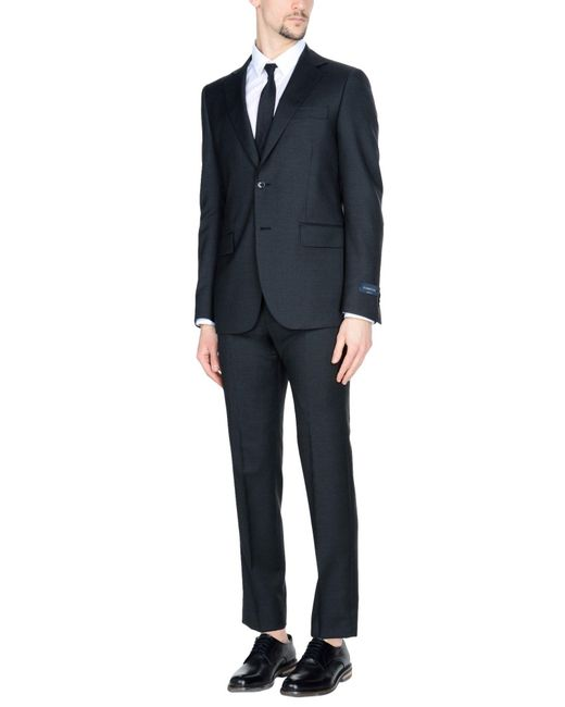 Tombolini - Black Suit for Men - Lyst