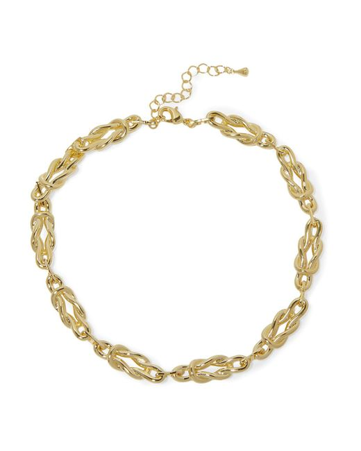 Noir Jewelry - Metallic Necklace - Lyst
